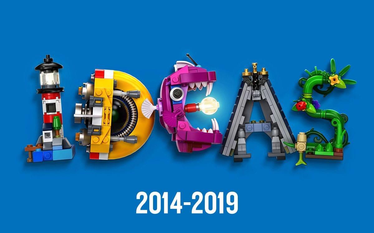 LEGO Ideas: CUUSOO e gli ultimi cinque anni di review (2014-2019)