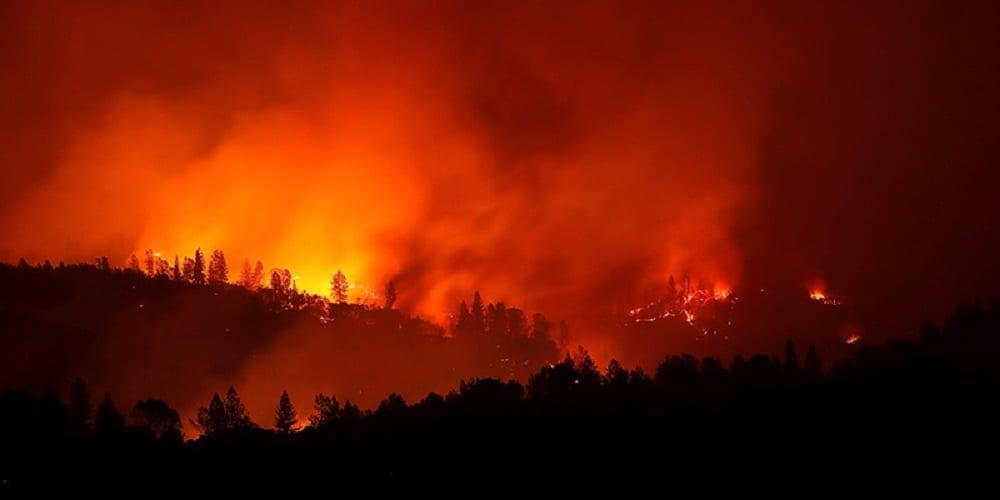 Google Maps segnala la diffusione degli incendi