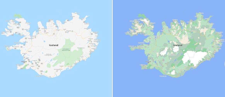 """Google Maps, le mappe diventano più dettagliate e """"colorate"""""""