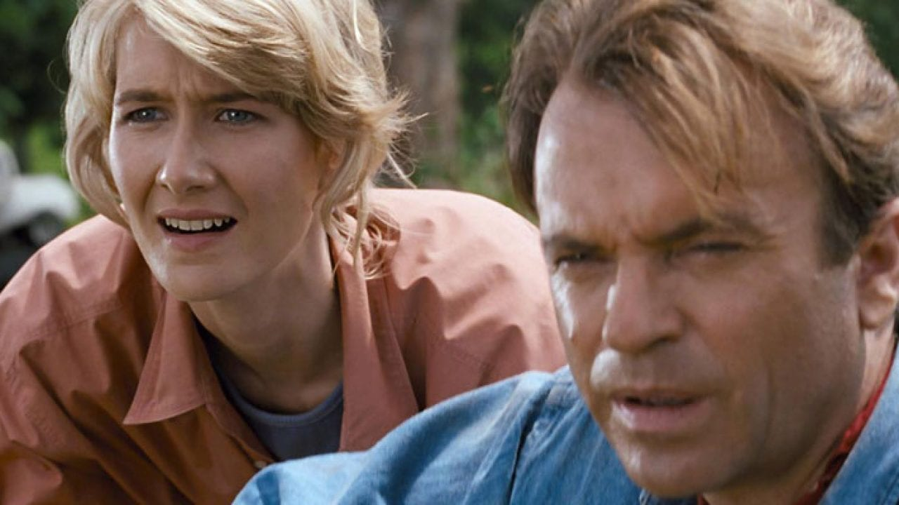 Jurassic World: Dominion - la prima foto di Laura Dern e Sam Neill sul set