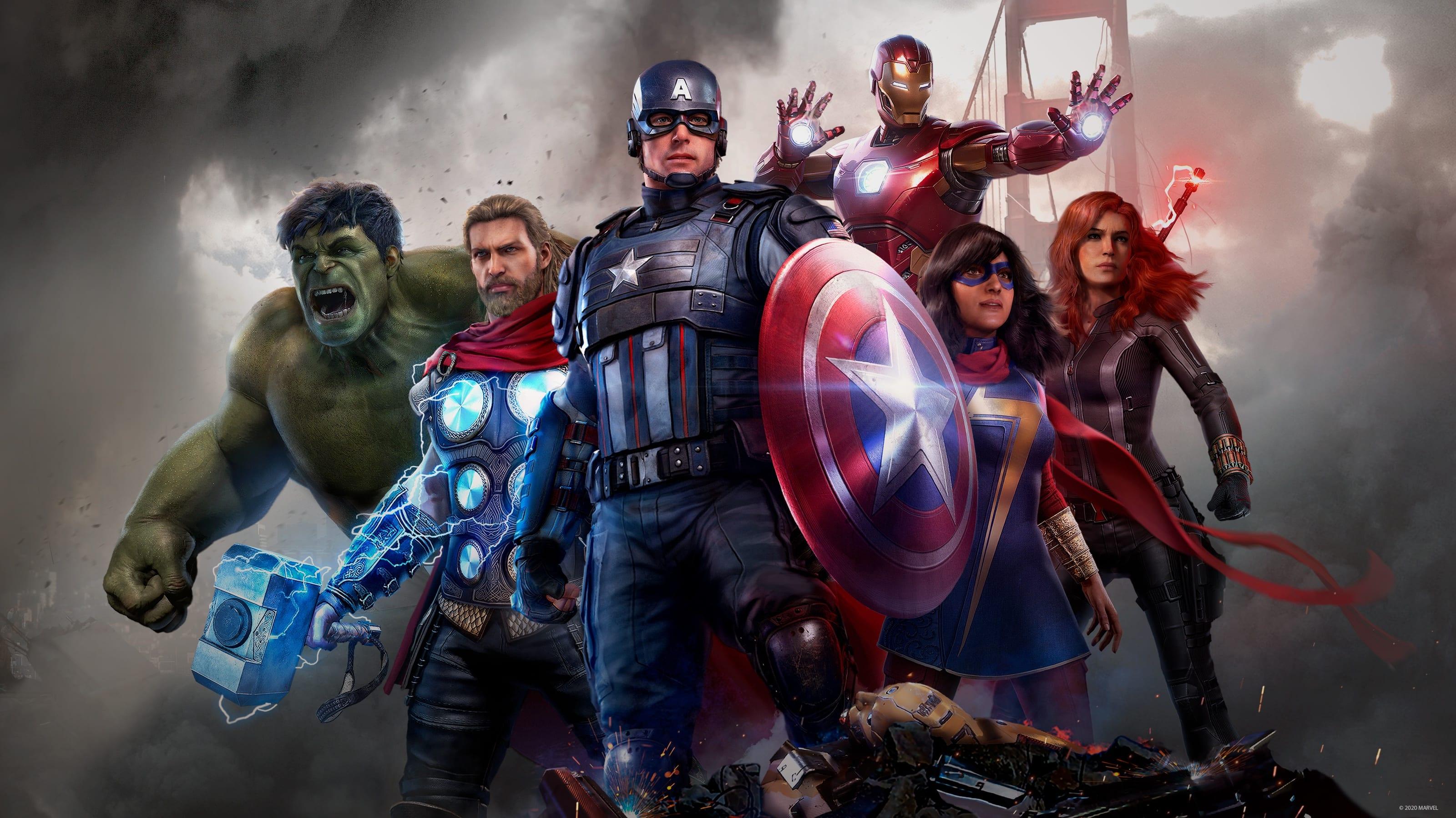 Marvel's Avengers Cover Provato
