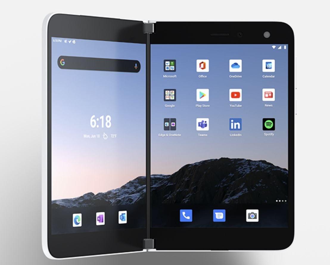 Surface Duo, lo smartphone dual screen di Microsoft parte da 1399$