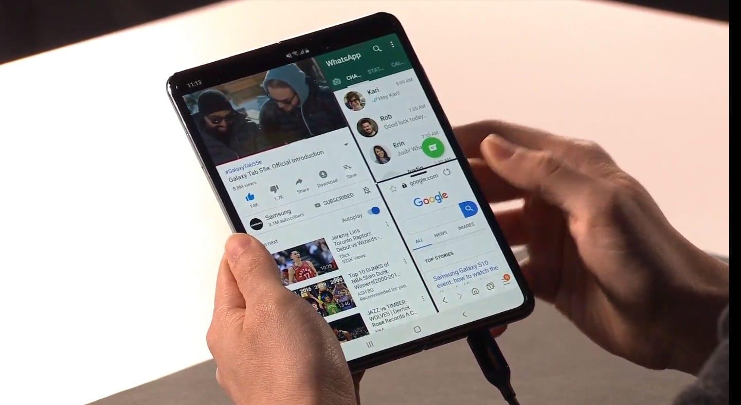 Samsung: il prossimo smartphone foldable potrebbe essere rollable