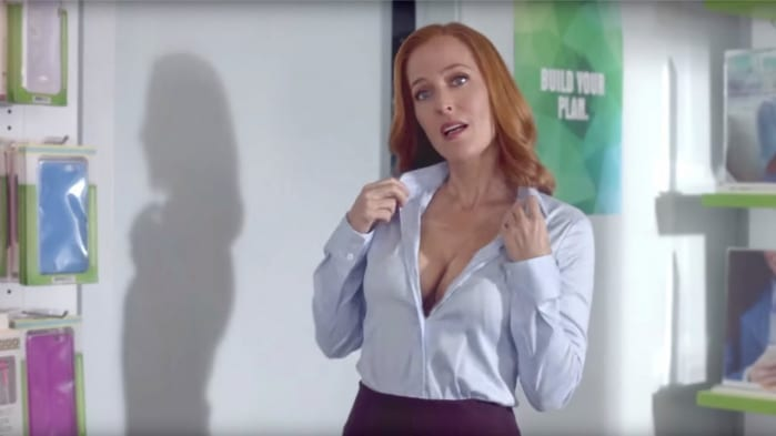 X-Files: sexy Scully