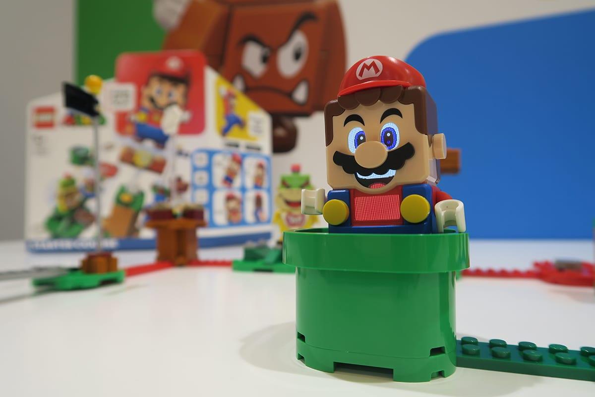 Lego Super Mario: arriva il treno regionale e un nuovo Lego Store nella Stazione Termini