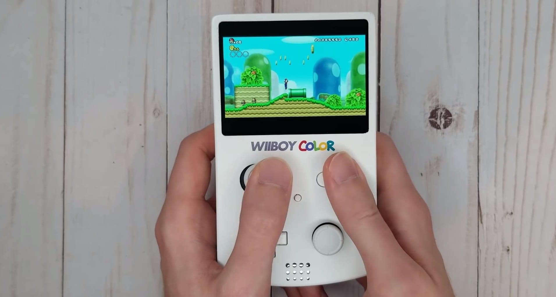 Wiiboy Color: il Wii diventa un Gameboy, è il progetto di un fan