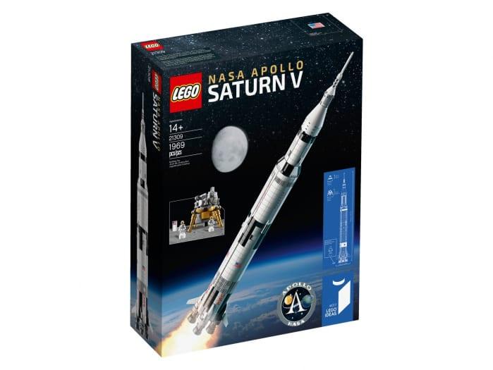 LEGO Saturn V e Nave in bottiglia