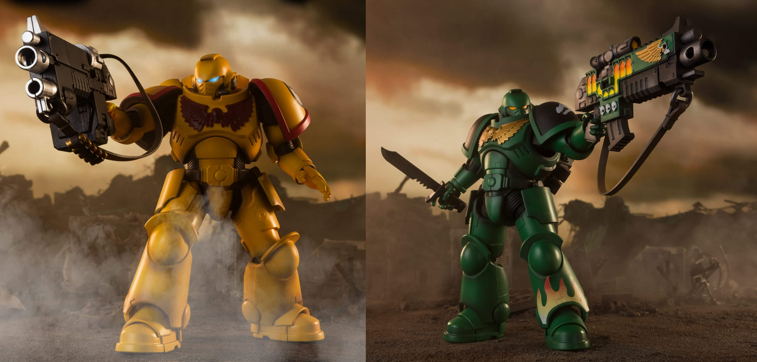 Le action figure di Warhammer 40,000 in edizione limitata