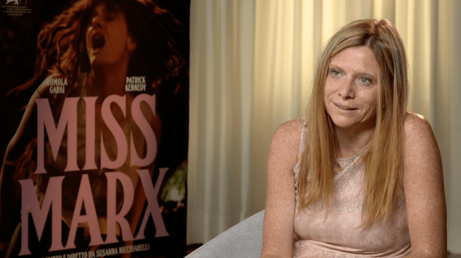 """Susanna Nicchiarelli su Miss Marx: """"Speriamo di arrivare a parlare solo dei film e non del sesso di chi li ha diretti"""""""