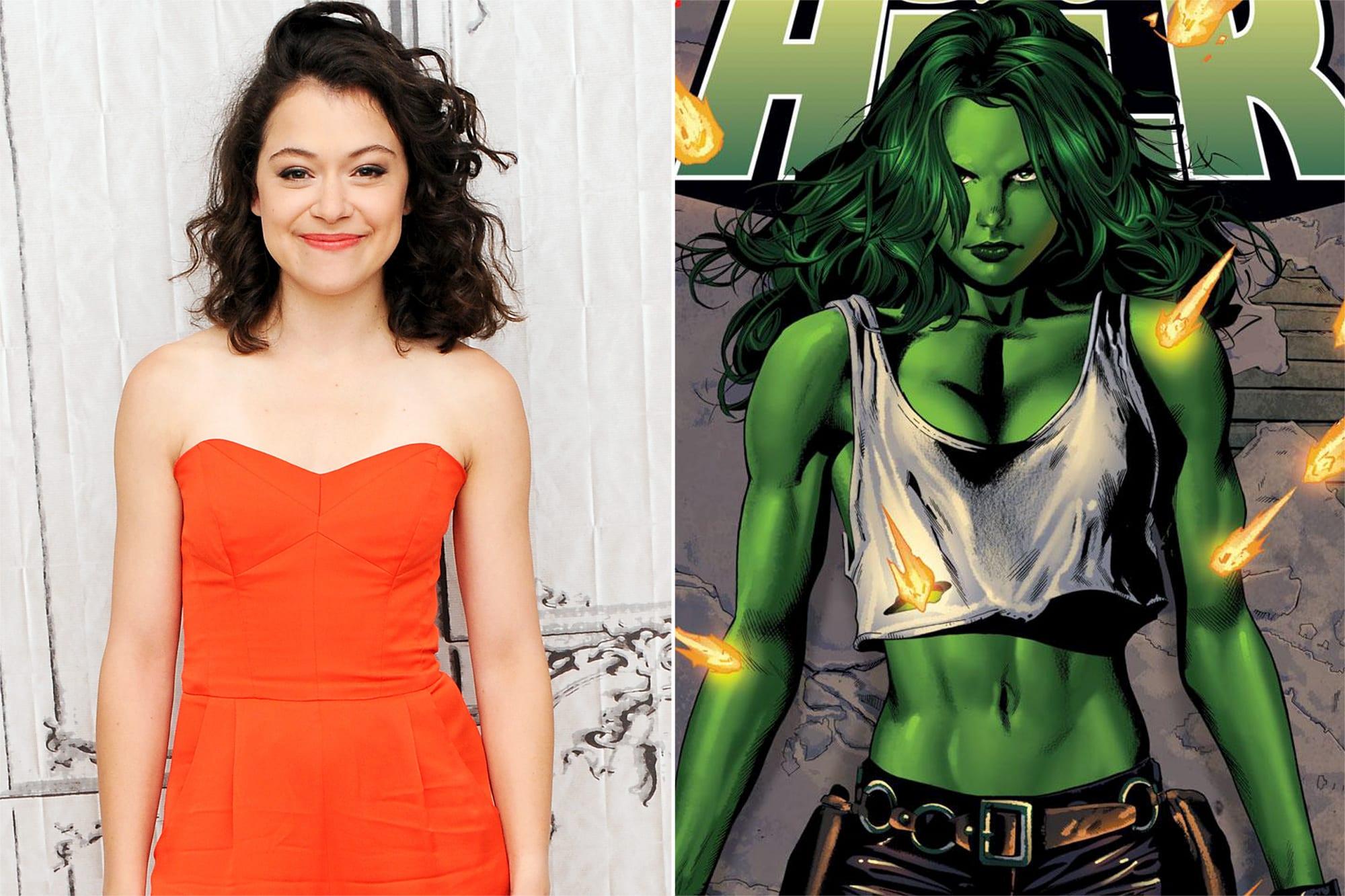 She-Hulk: Tatiana Maslany sarà la protagonista della serie TV