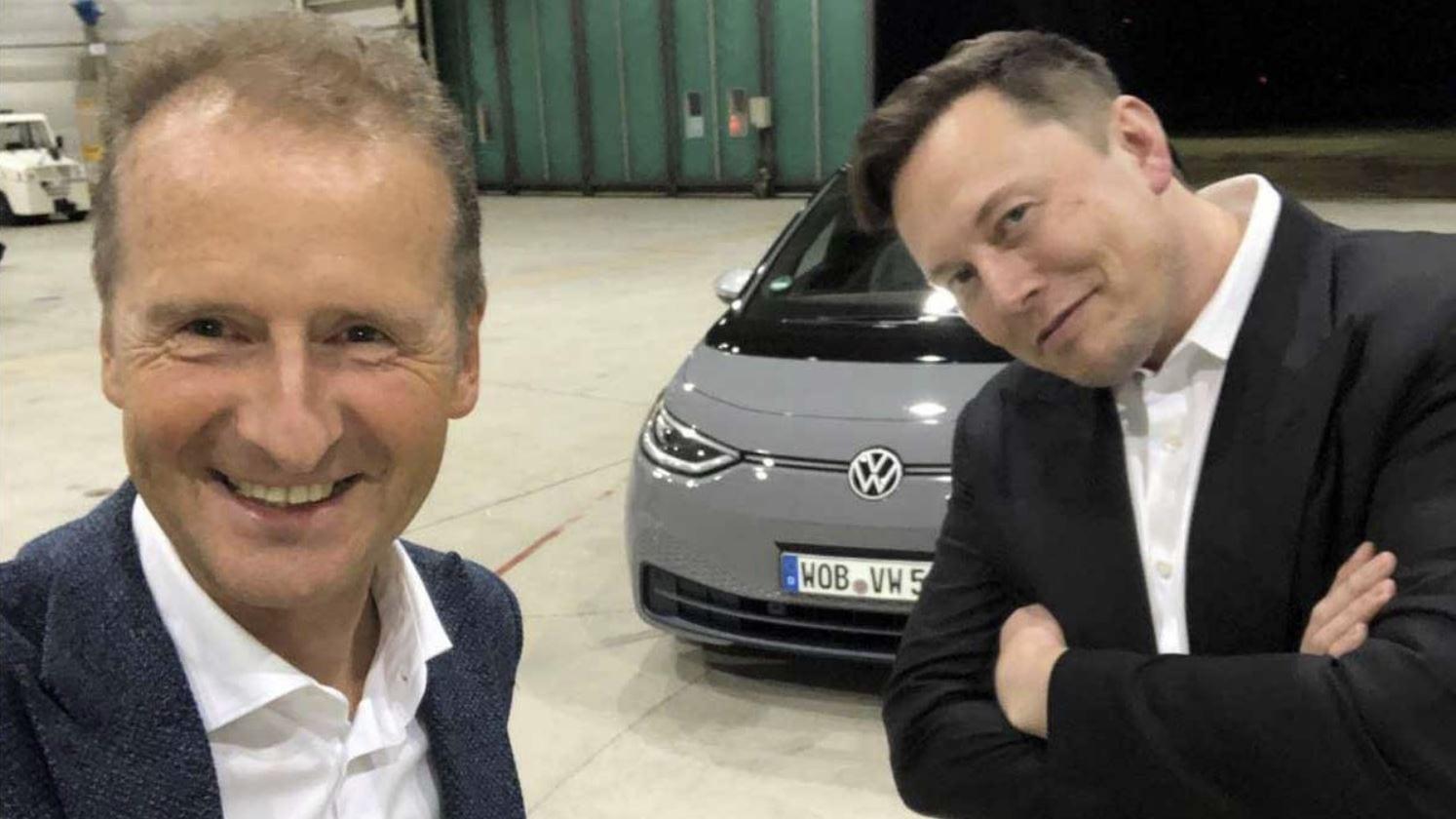 """Volkswagen, parla il CEO: """"l'auto di Apple? Non ci spaventa"""""""