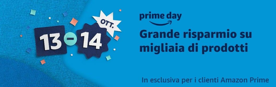 Amazon Prime Day 2020 sarà il 13-14 ottobre, già da oggi buoni da 10€