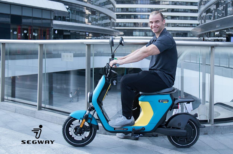 Segway C80: una bici elettrica mascherata da scooter con 80Km di autonomia e prezzo sotto ai 2.000$