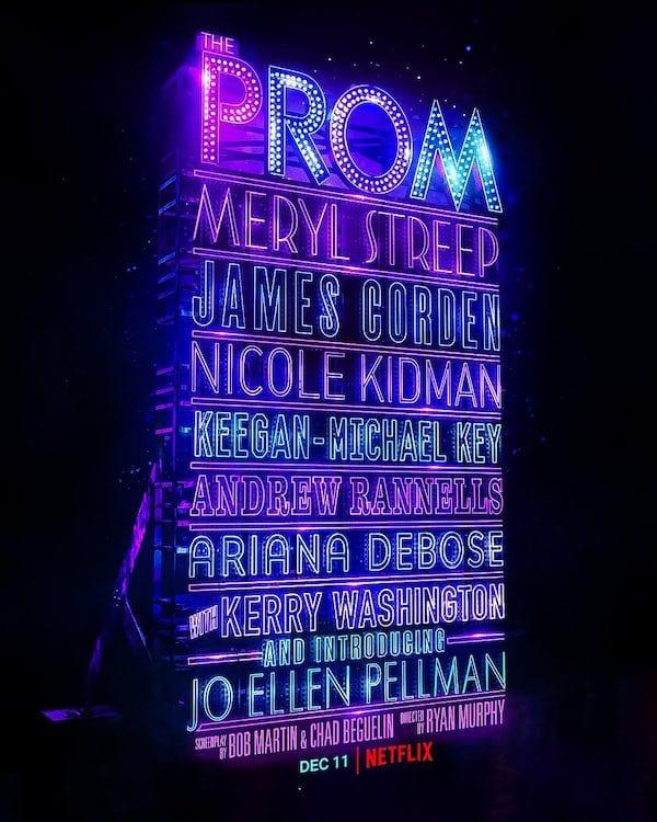 the-prom-netflix-ryan-murphy-poster