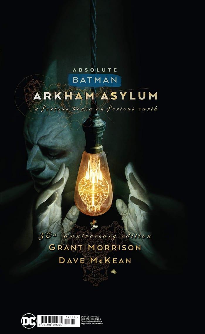 Fumetti horror Arkham Asylum