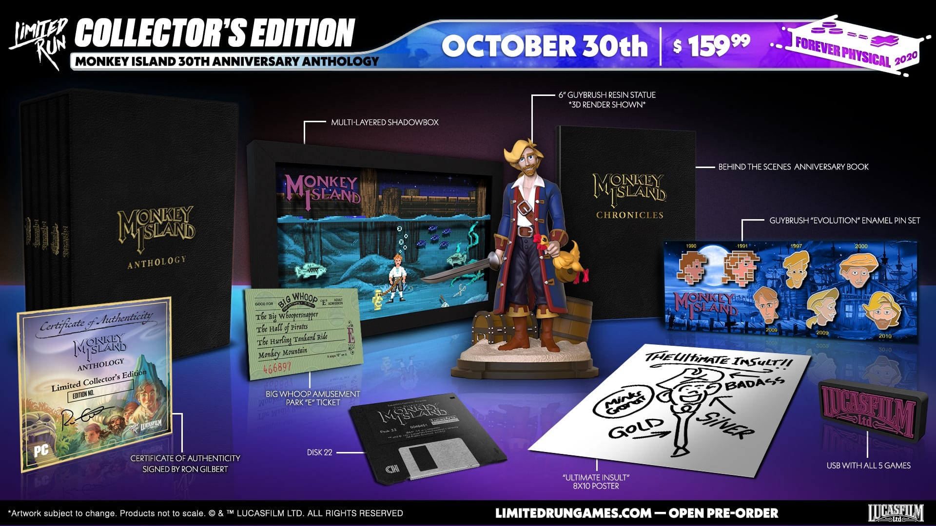 Monkey Island 30th Anniversary Antology Collector's Edition