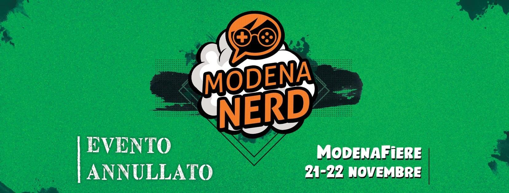 Modena Nerd: l'edizione 2020 è annullata e rimandata al prossimo anno