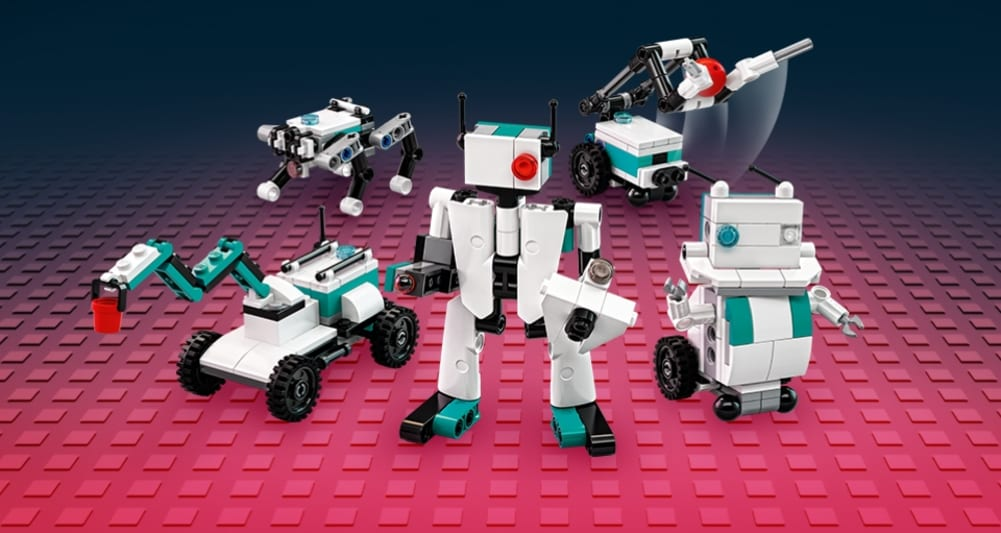 LEGO Mindstorms: disponibili il set 51515 e la versione mini in omaggio