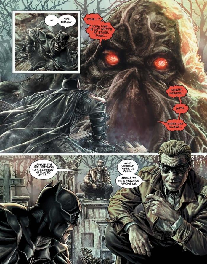 Batman Dannato - Swamp Thing