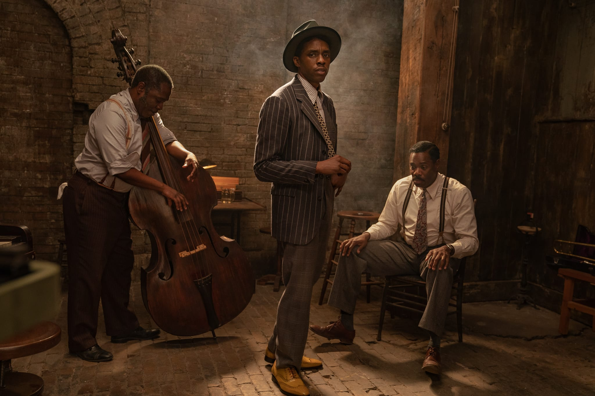Ma Rainey's Black Bottom, Chadwick Boseman