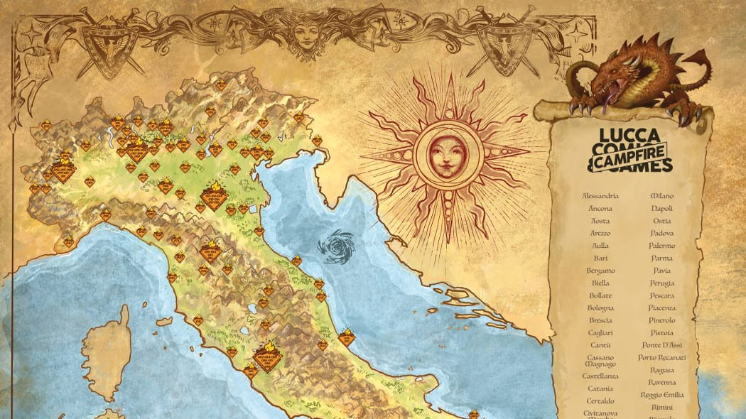 Lucca Changes mappa