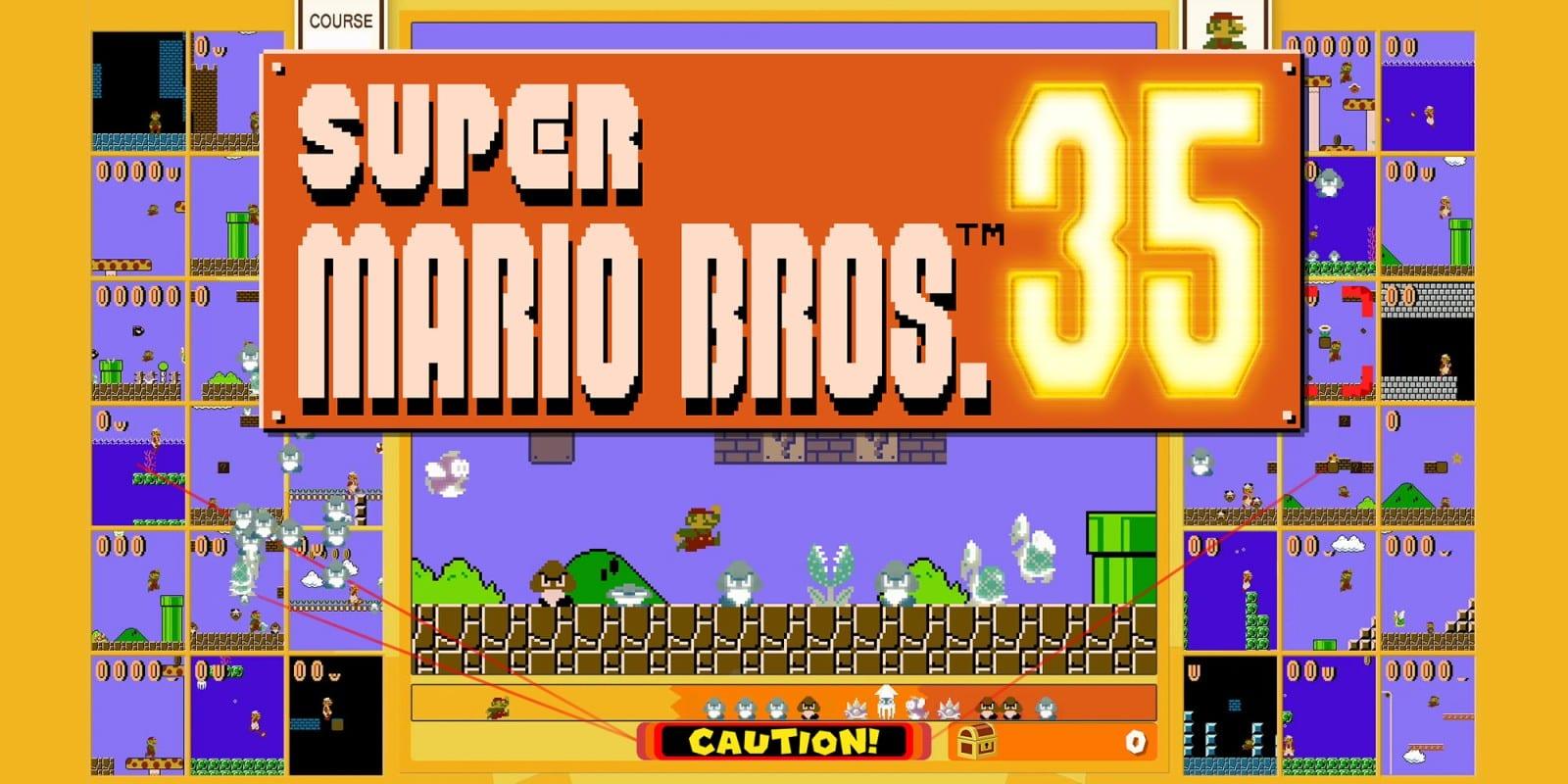 Super Mario Bros. 35 disponibile da oggi, gratis con Nintendo Switch Online
