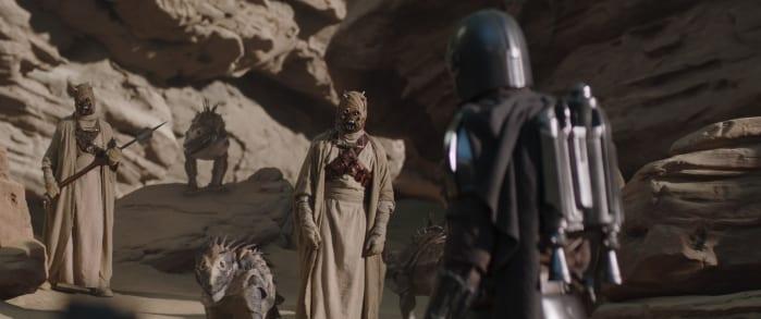 The Mandalorian 2 recensione primo episodio tusken