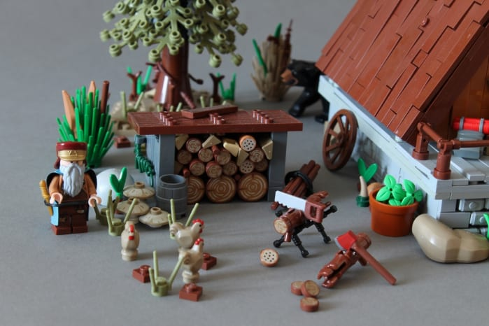 LEGO A-Frame