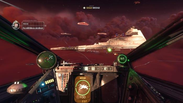 Star Wars Squadron Destroyer