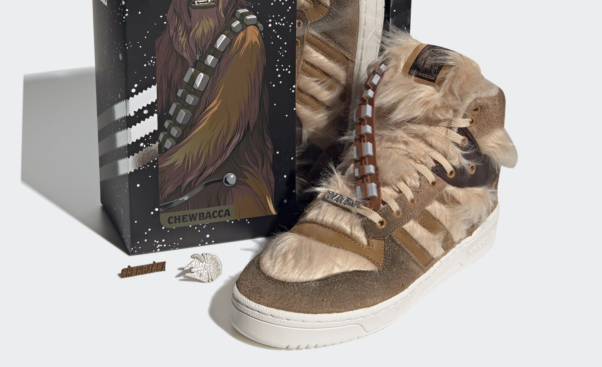 Adidas Rivalry Hi Star Wars Chewbacca in arrivo il 22 ottobre