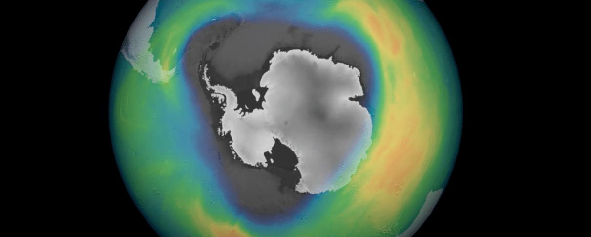Antartide: buco dell'ozono da record nel 2020