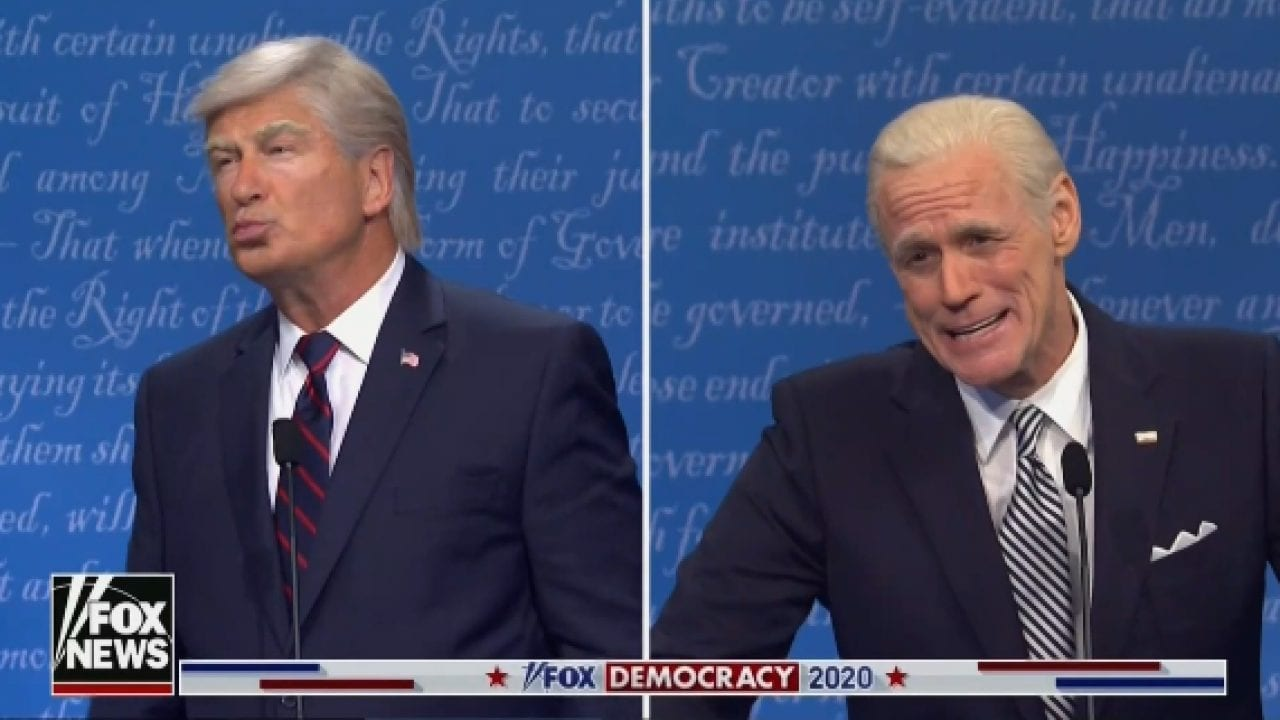 Jim Carrey al Saturday Night Live per la Presidential Debate Parody