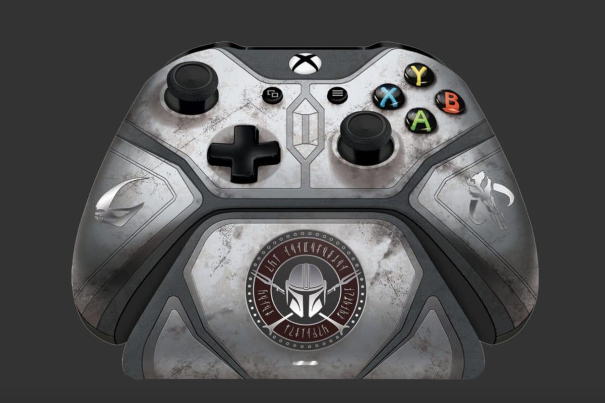 Microsoft ha presentato un controller per Xbox One dedicato a The Mandalorian