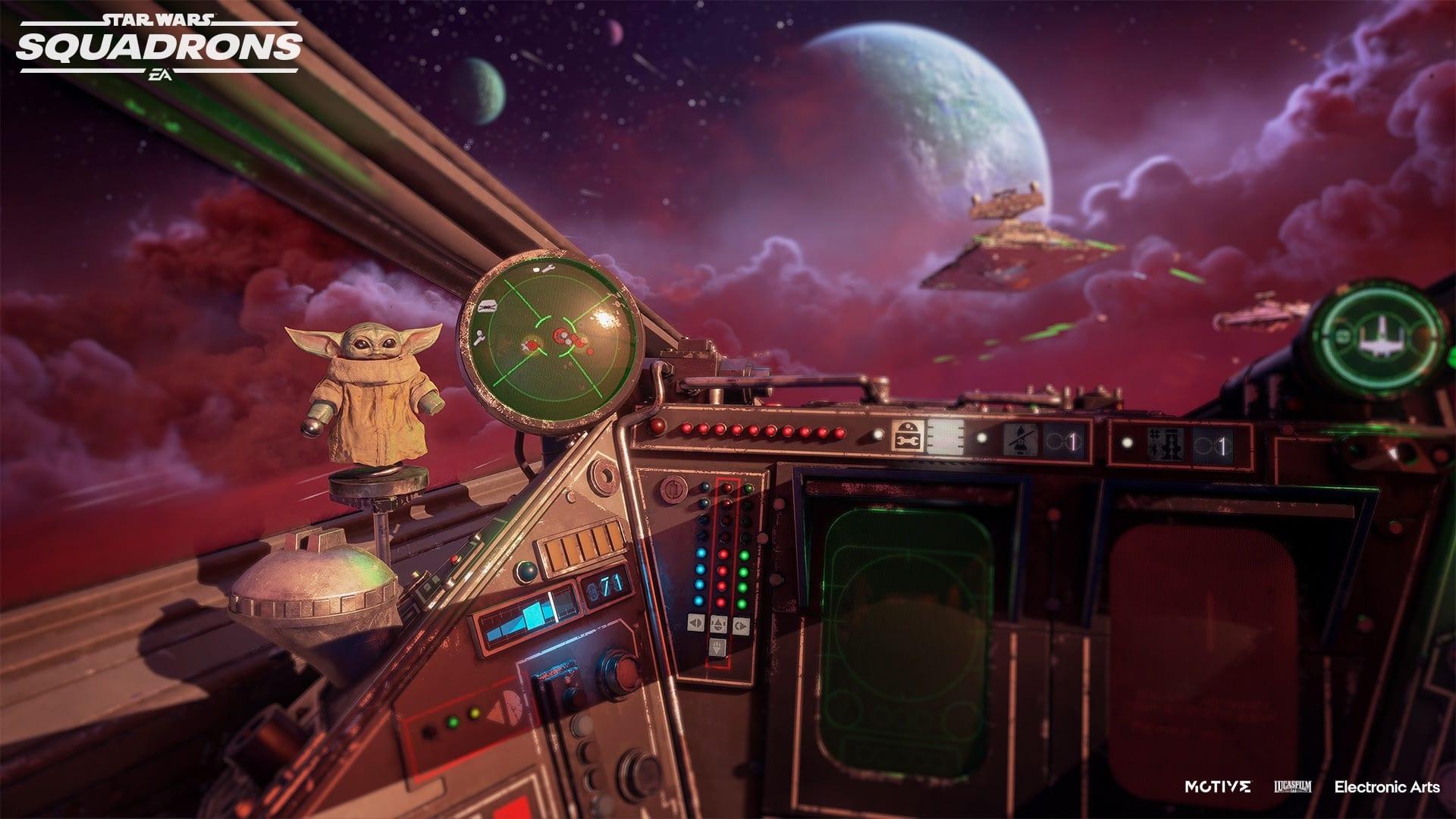 The Mandalorian arriva su Star Wars: Squadrons con un DLC