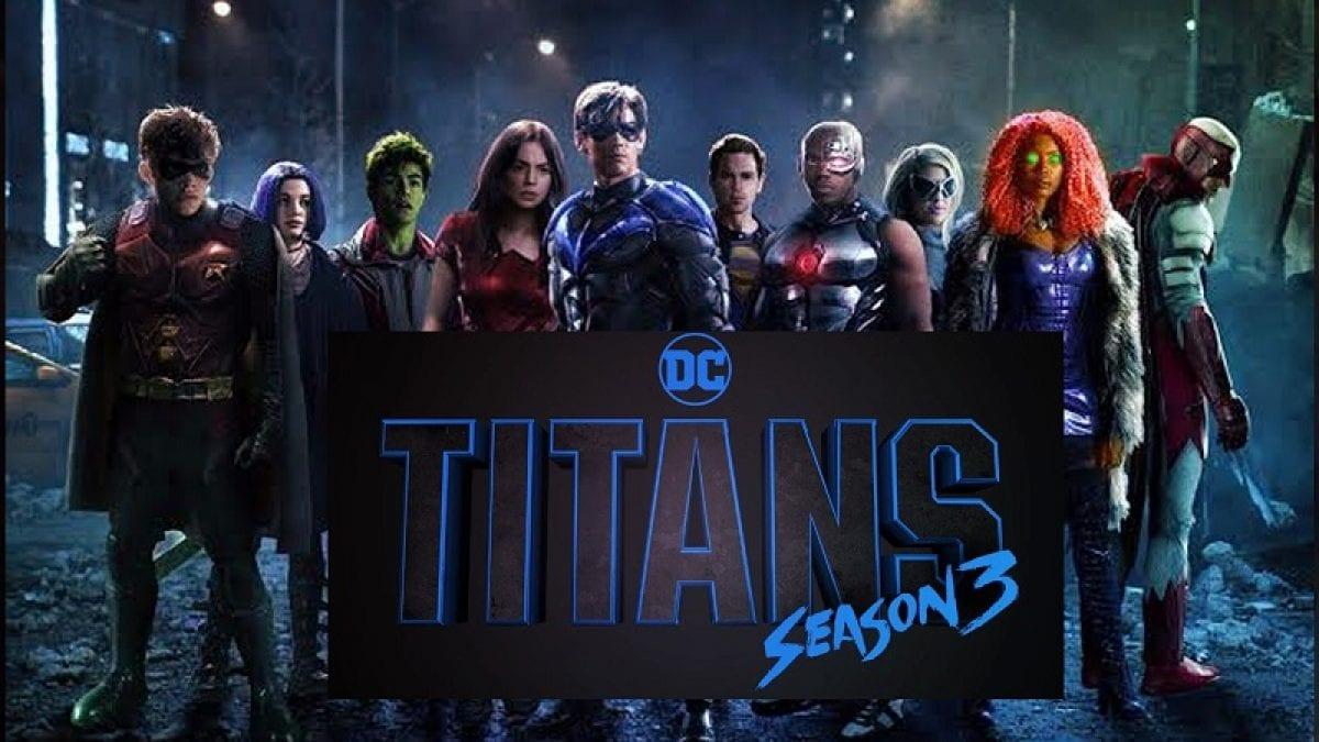 Titans 3: le prime foto di Scarecrow e Barbara Gordon