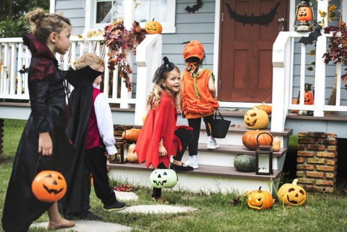 la storia di Halloween