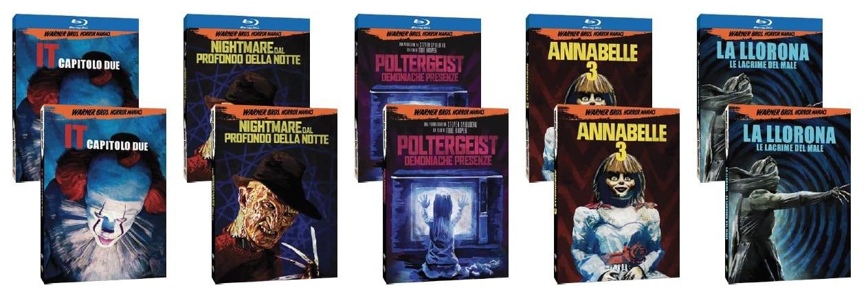 Warner Bros. Horror Maniacs: cinque nuovi titoli disponibili dal 13 ottobre