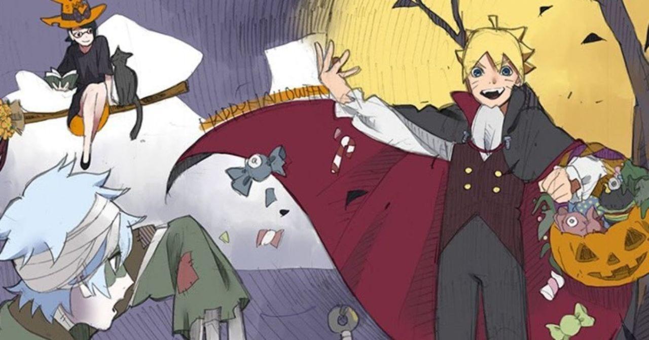 Boruto regala al Team 7 uno Spooky Sketch per Halloween