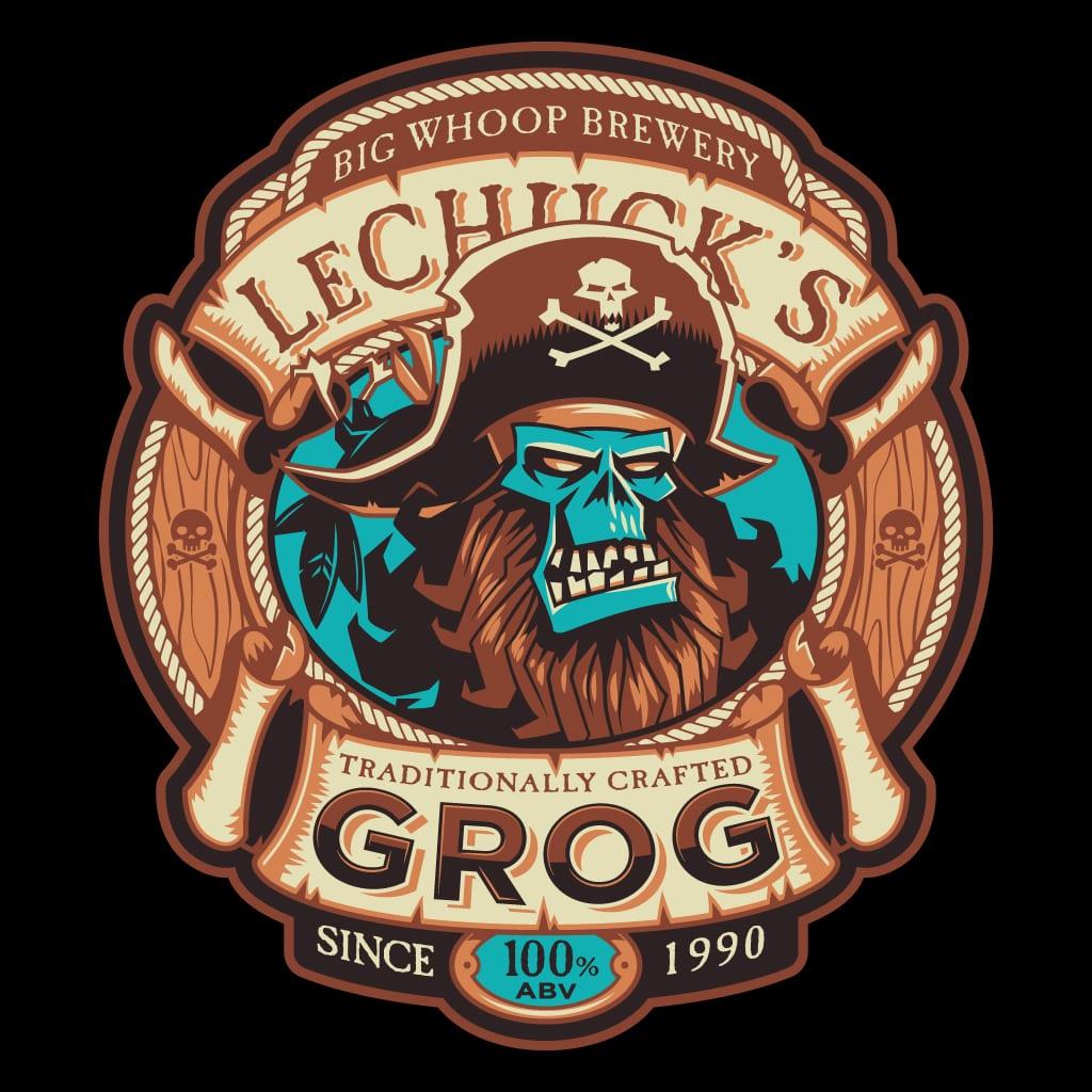 La T-Shirt Ghost Pirate Grog disponibile per 48 ore su TeeTee