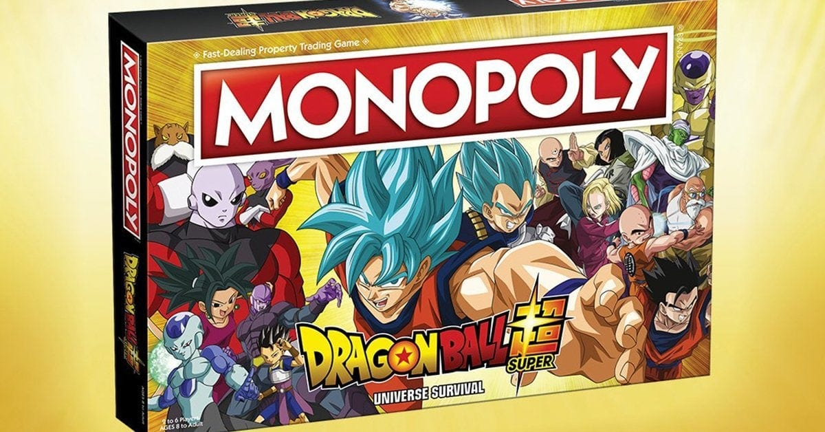 Dragon Ball Super, è disponibile il Monopoly dell'anime