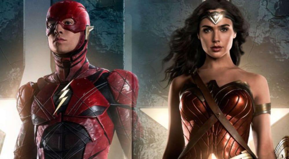 The Flash, Wonder Woman