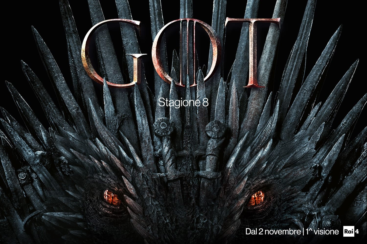 Game of thrones arriva su Rai 4