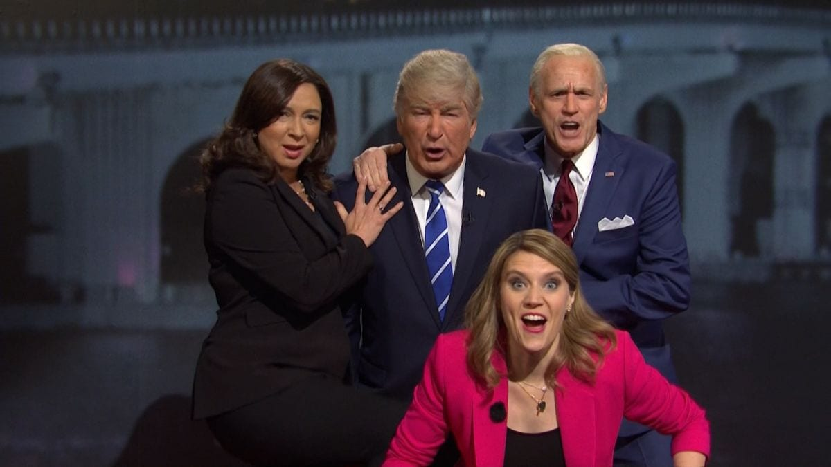 Saturday Night Live colpisce ancora con il duello Joe Biden-Donald Trump