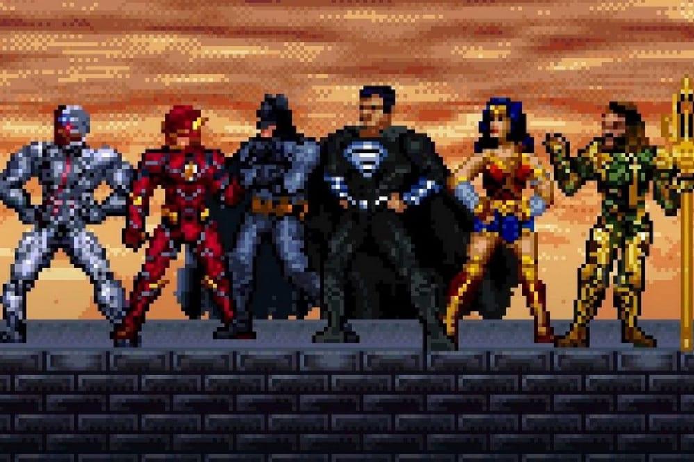 Justice League 16-bit