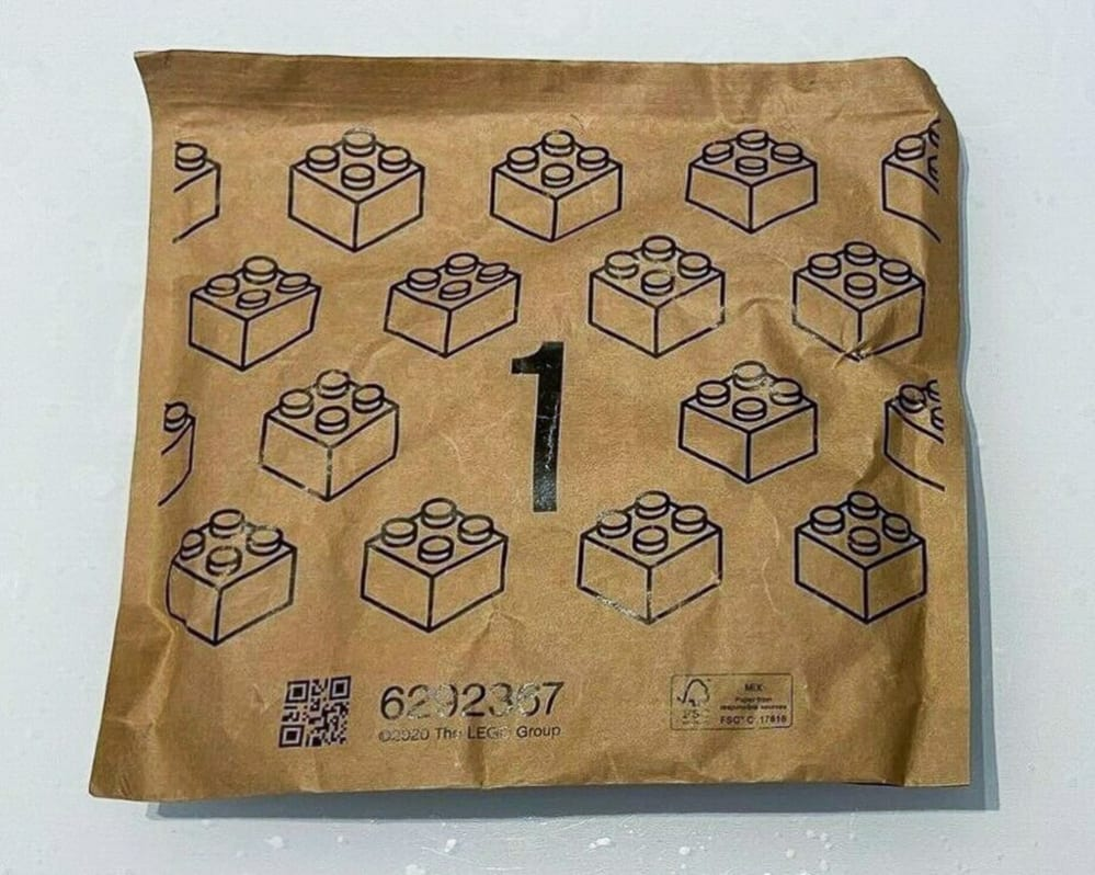LEGO paper bag