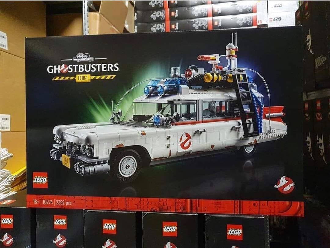 LEGO Ecto-1: prime immagini della scatola del nuovo set 18+