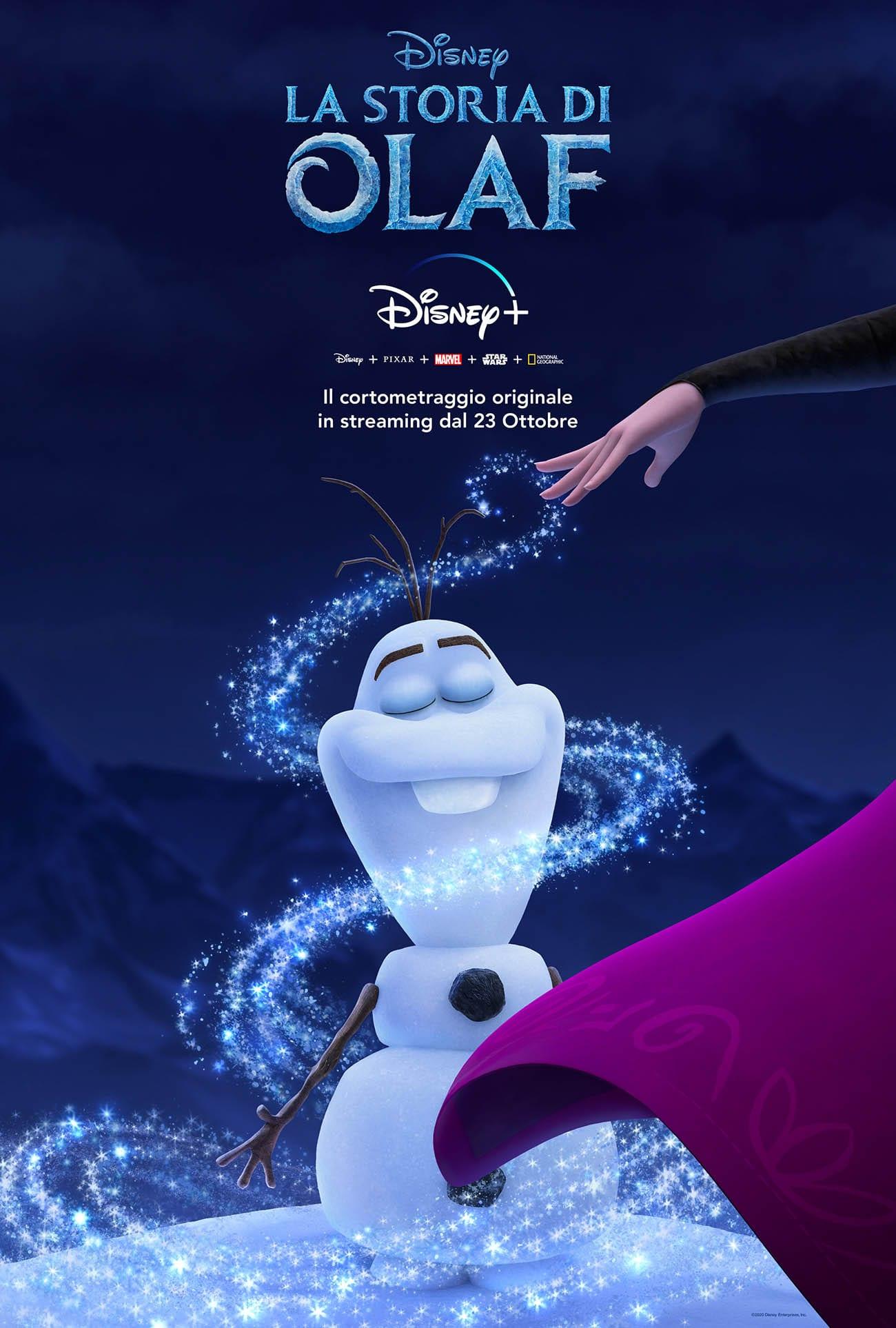 La Storia di Olaf: le sue origini nel nuovo corto Disney