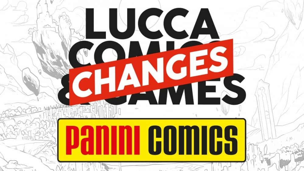 Panini Comics, Lucca Changes