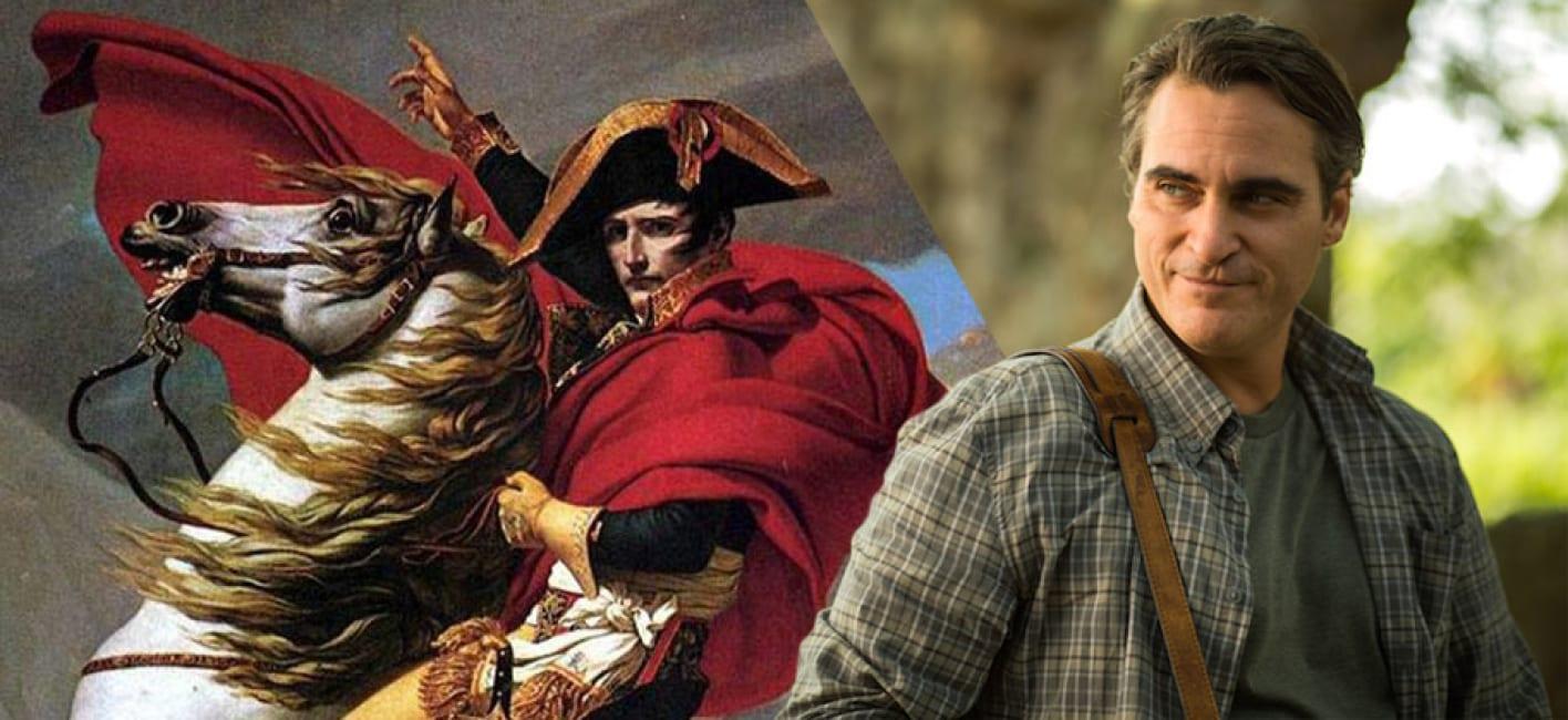 Joaquin Phoenix sarà Napoleone nel nuovo film di Ridley Scott