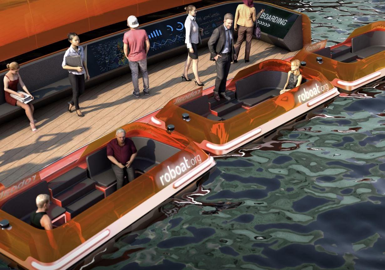 Roboat II, la barca autonoma del MIT naviga con successo nei canali di Amsterdam (video)